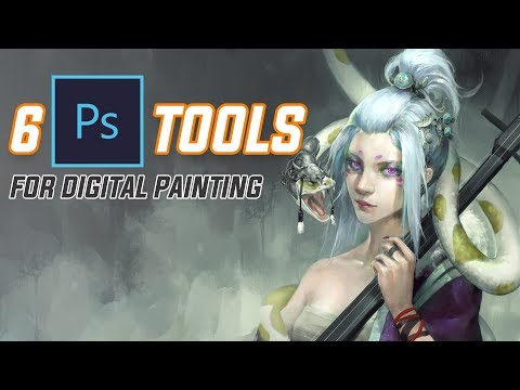 6 PS Tools for Digital Painting You Might Have Missed