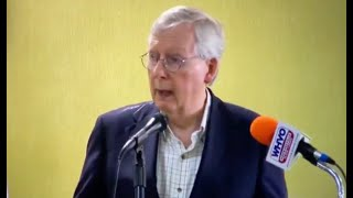 McConnell accidentally sinks himself with major public misstep