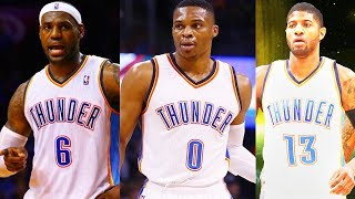 LeBron James Traded to Thunder after Carmelo Anthony Trade to Thunder! LeBron James Joins Thunder