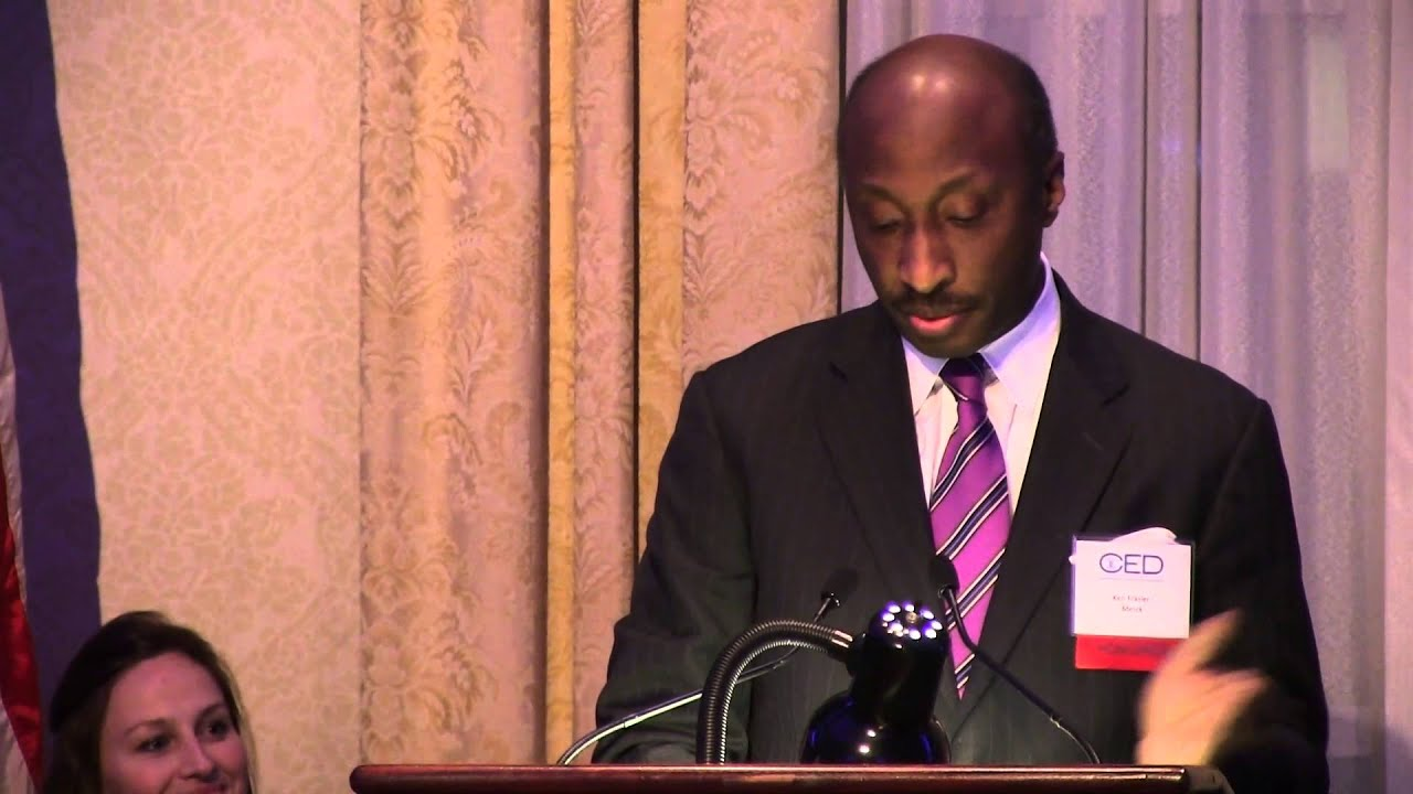 2013 Acceptance Speech: Ken Frazier, Merck - YouTube