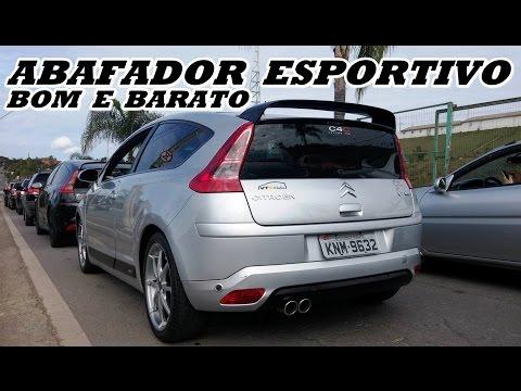 Abafador Esportivo Bom e Barato -  Citroen C4 VTR