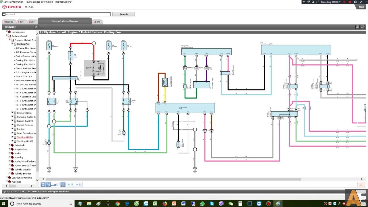 toyota c hr wiring diagram wiring diagram yer toyota c hr hybrid 10 2016  [ 1280 x 720 Pixel ]