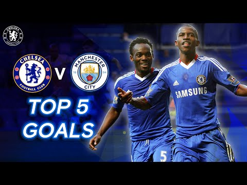 Top 5 Chelsea Goals v Manchester City | Ft. Ramires, Ba, Diego Costa & More