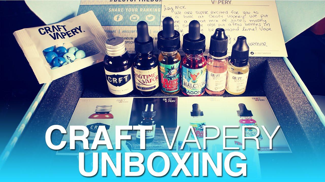 craft vapery unboxing youtube