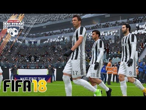 FIFA 18 MODO CARREIRA | JOGO ÉPICO CONTRA A JUVENTUS!! #EP9