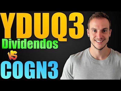 YDUQ3 | Dividendos e Comparativo com COGN3