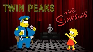 Твин Пикс в Симпсонах (Гомер и Лиза)   The Simpsons: Twin Peaks (Homer and Lisa)