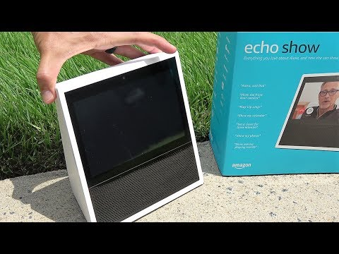 The Amazon Echo Show – Pretty Dang Good (the MOST in-depth review on YT)