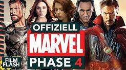 Das ist MARVEL's PHASE 4 | Alle neuen MCU Filme & Serien | FilmFlash