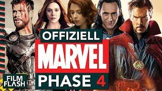 OFFIZIELL: MARVEL PHASE 4 | Alle neuen MCU Filme & Serien | FilmFlash