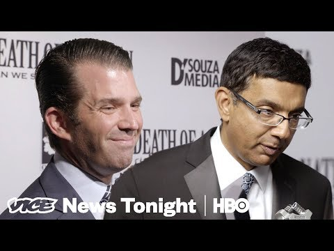 Donald Trump Jr. Praises D'Souza's Film Comparing Democrats to Nazis (HBO)