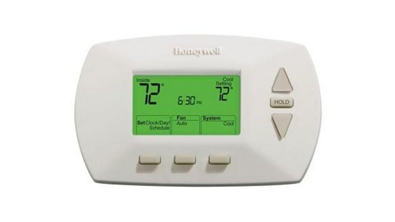 honeywell 5 1 1 day programmable thermostat rth6450d youtube rh youtube com
