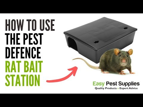 How To Use The Pest Defence Rat Bait Station