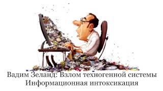 Вадим Зеланд Информационная интоксикация.