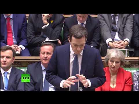 George Osborne delivers Budget 2016