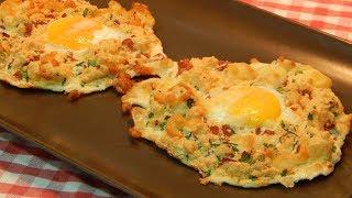 Receta fácil de huevos nube (Cloud Eggs)