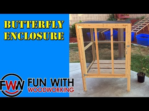 How to build a Butterfly Enclosure
