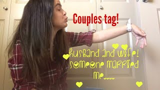 Couples tag| Husband and Wife❤️