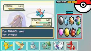 Pokemon Ash Gray (beta 3.61) - Vizzed.com Play - User video
