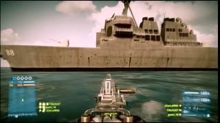 Battlefield 3 The killer ship / El barco asesino