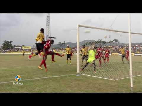 Ashanti Gold  2-0 Asante Kotoko - 2017/18 Ghana premier league