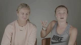 USWNT TOURNAMENT OF NATIONS ● LINDSEY HORAN AND EMILY SONNETT TON Q AND A ● US SOCCER TWITTER VIDEO