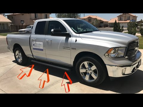 iBoard Running Boards Complete Install On A Dodge Ram 1500 Big Horn! ✔️