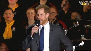 Prince Harry kicks off Invictus Games in Australia