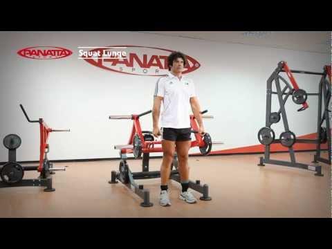 Panatta Sport FW Squat Lunge English