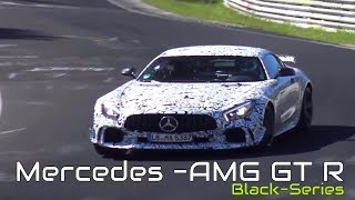 إستمع الى صوت مرسيدس AMG GT R Black Series أثناء إختبارها على نوربرجرنج
