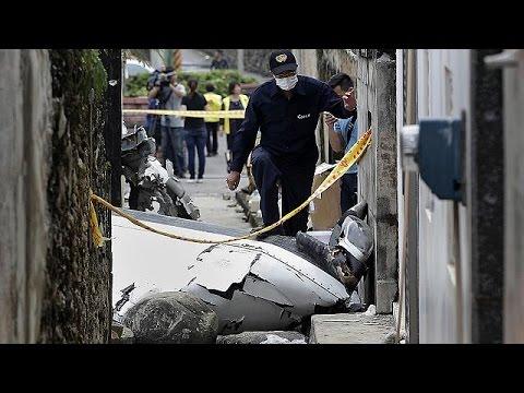 Dozens dead in Taiwan plane crash
