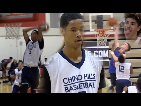 Andre Ball & Big O GO OFF in Chino Hills 1st Loss w/o LaMelo!! Chino Hills vs Bishop Gorman