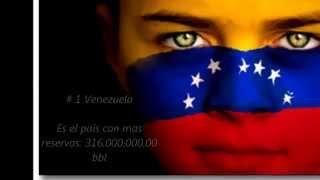 Top de los 10 paises con mas reservas de petroleo de Latinoamerica 2014