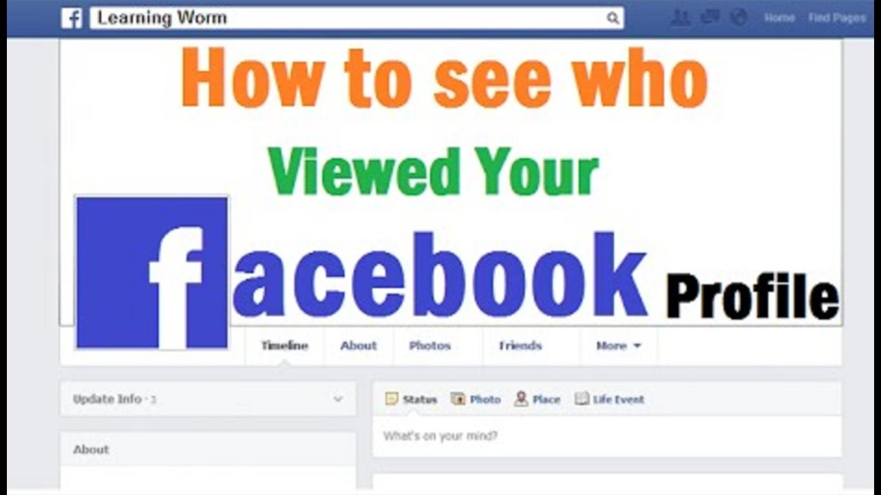 Learn How To Find Out Who Viewed Your Facebook Profile