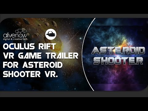 Oculus Rift VR Game: Asteroid Shooter | From AliveNow VR Studio a free Oculus Virtual Reality Game!