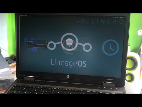 Lineage-OS Linux Distro V1 32BIT Un Official For Any Pc Laptop Or X86 Tablet