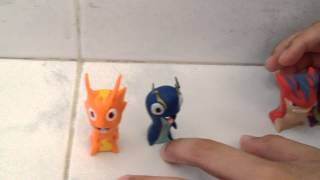 Slugterra 2 packs Burpy and joules,bludgeon and arachnet !!!!!!!!!!