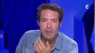 Nicolas Bedos sur Ruquier : 1ère chronique On n'est pas couché - 21 septembre 2013 #ONPC