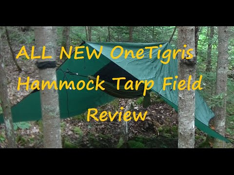 ALL NEW, OneTigris Hammock Tarp 10x10,  Field Review.