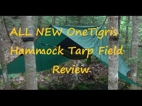 ALL NEW, OneTigris Hammock Tarp 10x10,  Field Review.