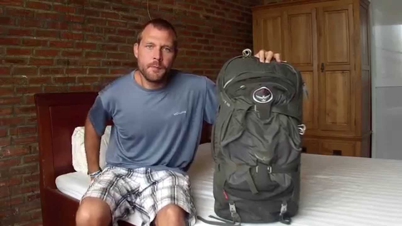 9c38d0cc525d Osprey Farpoint 55 Travel Pack Review for Southeast Asia Backpacking Trip -  YouTube