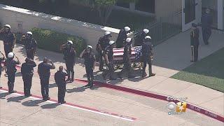 Public Visitation For Fallen Dallas Officer
