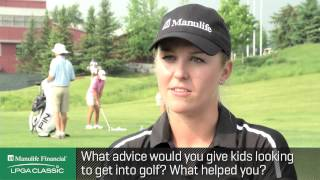 Interview with Jennifer Kirby at the Manulife Financial LPGA Classic