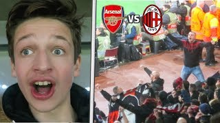 ARSENAL vs AC MILAN *VLOG* - ROSSONERI FANS SILENCE THE GOONERS