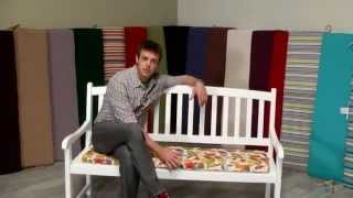 Coral Coast 53 X 14 Porch Swing And Glider Cushion - Product Review Video