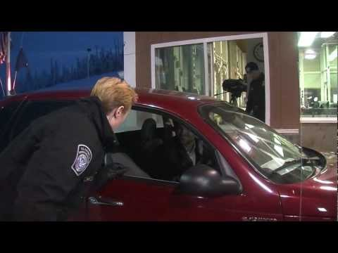 CBP Port of Entry Alcan, Alaska: Officer Inspection