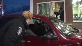 CBP Video: Alcan Alaska Officer Inspection