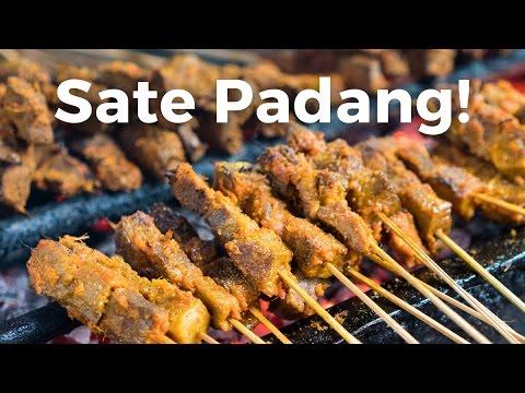 Sate Padang Ajo Ramon - Indonesian Street Food in Jakarta!