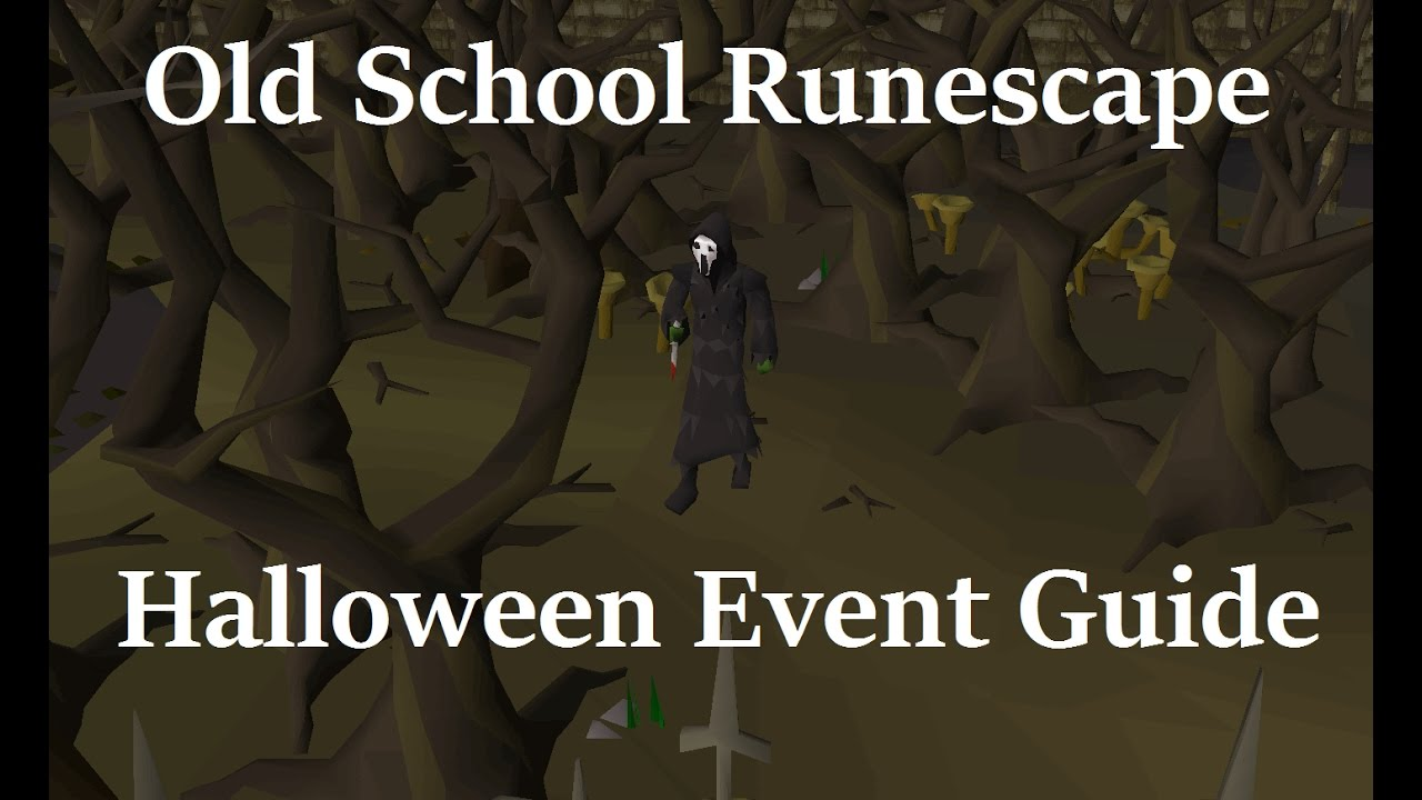 OSRS Halloween Event Guide | 2016 - YouTube
