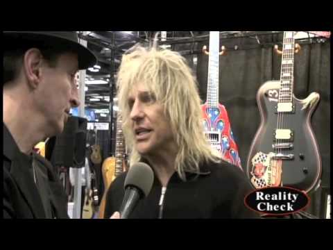 Poison's CC Deville at NAMM 2013